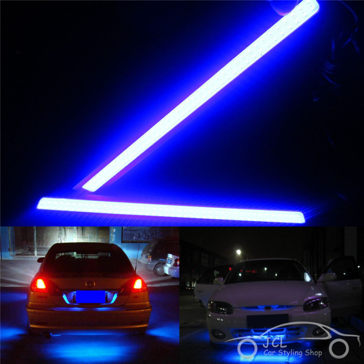 Waterproof 17cm COB DRL LED Car Parking Daytime Running Light Auto Lamp Universal light source FreeShipping - Yell on line store