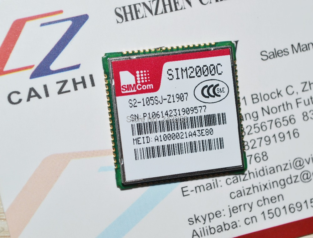 Free shipping small and cost-effective CDMA module SIM2000C SIM2000C module New And Original Parts In store promotion(China (Mainland))