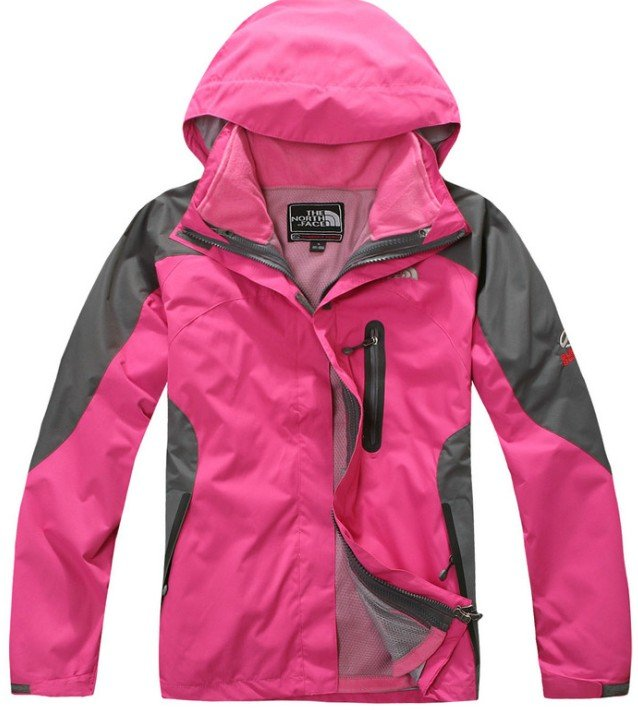 Outdoor waterproof windproof jacket lady detachable fleece liner two sets mountaineering /5Color - Online Store 214194 store
