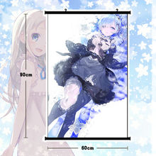 Anime Re:Rem Poster Wall Scroll Mural Home Decor Cute Gift 60*80cm - xinhuiwuyou543jmy store