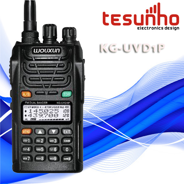 TESUNHO KG-UVD1P dual band high power long distance waterproof uhf vhf radio china(China (Mainland))