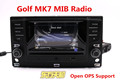 Original Car Radio Golf 7 MK7 VII Radio MIB System Support Bluetooth Car Info 5GG 035