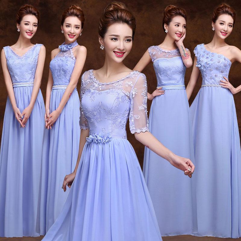 2015 spring summer nice light purple bridesmaid dress the for Purple summer dresses for weddings