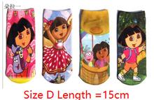MW003 Free shipping cotton kids socks princess spider-man baby socks hosiery cartoon childrens sock 6 pairs / lot  retail(China (Mainland))