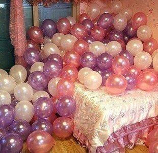 "10"" inch Latex Round air balloon Kids birthday Wedding party decoration Wedding favors supplies"