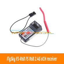 Buy FlySky FS-R6B FS R6B 2.4G 6CH receiver RC Transmitter FS T6 CT6B 9ch TH9X TH9B for $8.10 in AliExpress store