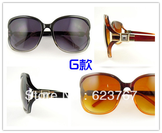 Free shipping New special / classic female models sunglasses / grab earn / random delivery