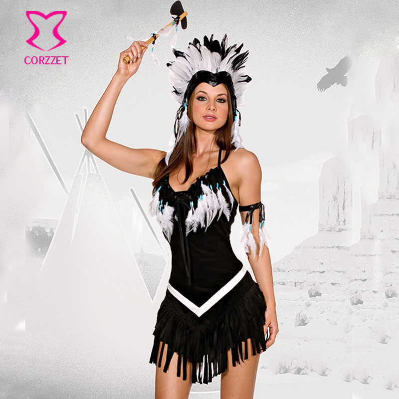 Sexy indian halloween costume