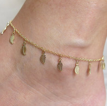 Buy Lots 12Pcs Adjustable Leaf Foot Chain Gold Leaf Anklets Bracelet Women Sexy Simple Barefoot Ankle Bracelet Jewelry for $9.56 in AliExpress store