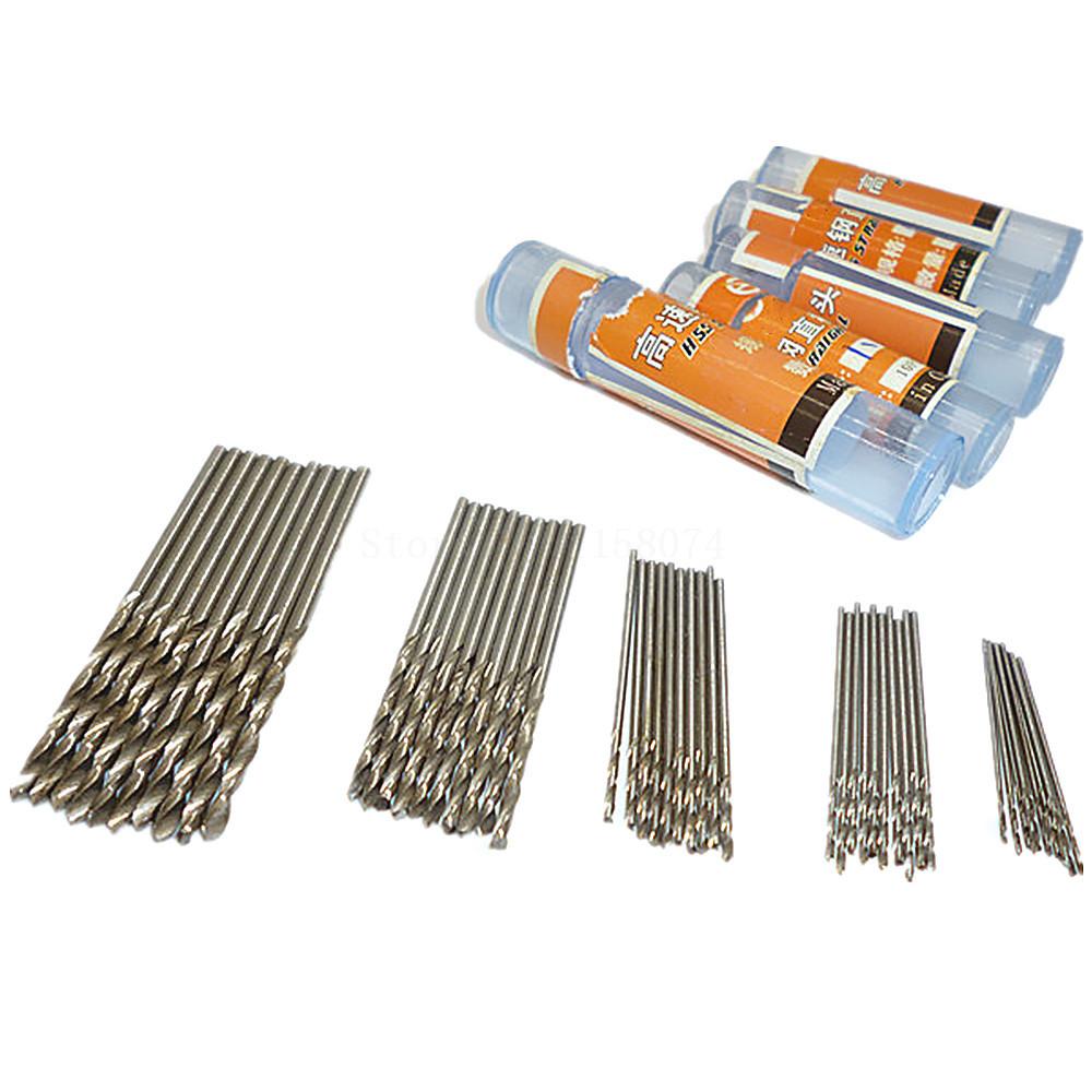 4mm diamond twist drill bit - 50pcs 0 6mm 0 8mm 1mm 1 5mm 2mm Hss High Speed Steel Drill Bit Set Twist Drill Bits Plastic Metal Wood Plastic Twist Drills Bit