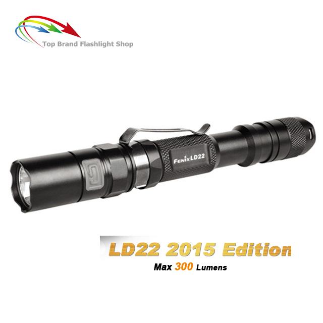 New Fenix LD22 2015 Edition Lightweight Flashlight Cree XP-G2 R5 Led 300 Lumens 2* AA All-round Chamption Outdoor Linterna<br><br>Aliexpress