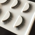 New 3 pairs set 3D Cross Thick False Hand Made Eye Lashes Extension Makeup Super Natural