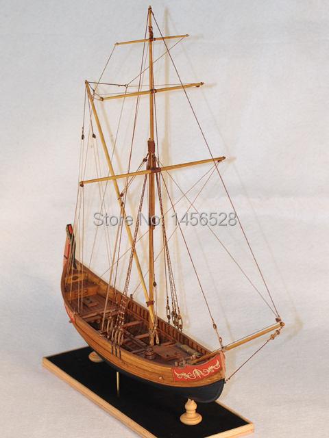 Classic wooden sailing boat assembled model wood scale ship 1/48 MARMARA scale assembly model ship building kits scale boat ship(China (Mainland))