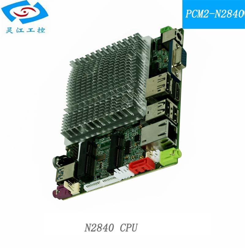 fanless itx motherboard 10*12cm mini itx industrial motherboard quad core motherboard(China (Mainland))