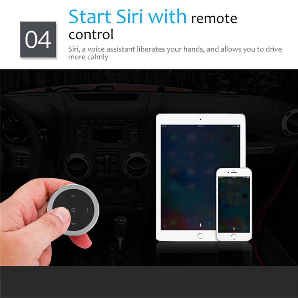 Автомобильный портативный пульт дистанционного управления круглый Bluetooth aeProduct.getSubject()