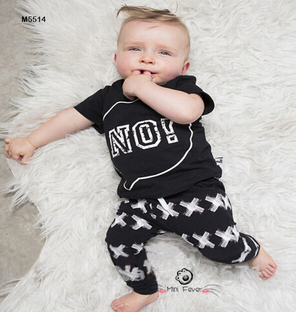 Summer fashion 2016 newborn baby boy clothes cotton short sleeve t-shirt + pants 2pcs infant clothing set bebe(China (Mainland))