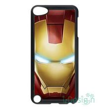 Fit for iPhone 4 4s 5 5s 5c se 6 6s 7 plus ipod touch 4/5/6 back skins cellphone case cover Iron Man Face Superhero