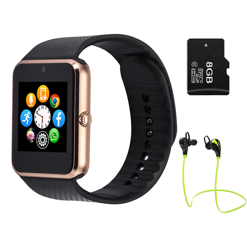 Smartwatch bluetooth smart watch gt08 for iphone ios - Camera connectee iphone ...