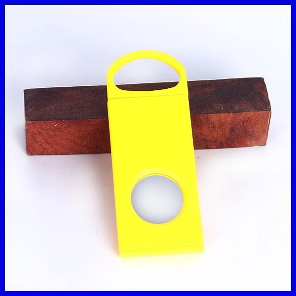 Cheaper Plastic Porket tobacco double blade cigar cutting tool Scissors knife cutter - Yiwu Lika Smoking Set Factory store