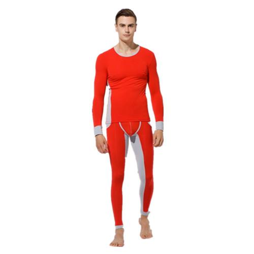 Men underwear 2015 Brand Fashion Men's thermal sets Suit autumn Winter low-waist tight round neck Male Underwears - Dec'ple Store store