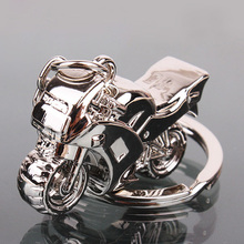 Fashion Classic 3D Simulation Model Motorcycle Motorbike Keychain Key Chain Ring Keyring Keyfob personality jewelry key chain(China (Mainland))