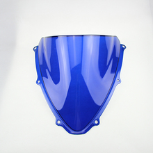 Buy Free Suzuki Blue Windshield WindScreen Double Bubble Suzuki GSXR600 GSXR750 GSXR 600 GSXR 750 K6 2006-2007 06 07 for $17.09 in AliExpress store