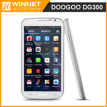 DOOGEE VOYAGER DG300 Smart Phone Android 4.2 MTK6572 Dual Core 5.0 Inch IPS Screen 5.0MP Camera 512MB RAM 4GB ROM 3G GPS Phone