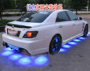 Doesthis 4 atmosphere light car modified cars lantern decoration lamp chassis lamp dacryops lamp