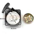 Universal 33cc 36cc 43cc 52cc Brushcutter Grass Trimmer Steel Recoil Pull Starter Start Assy
