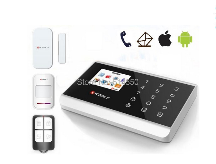 Home security system wireless home alarm kit panic button system home