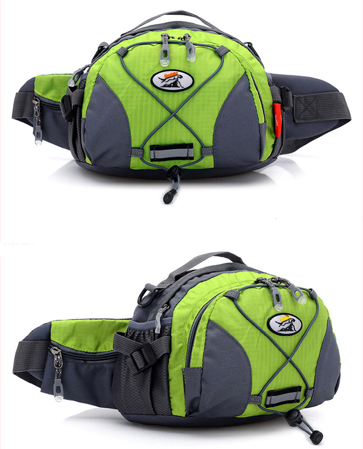 2015 new Fashion Outdoor Multifunctional Travel Sports Waist Pack Hiking Ride Chest pack waist bag 302 - Specialist store