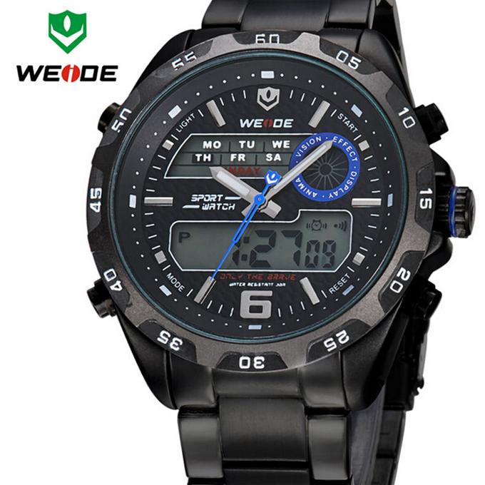 2015 Popular Military Sports Watches Men wristwatches quartz Watch Waterproof Outdoor Army Digital Watch Full Steel Wristwatches(China (Mainland))