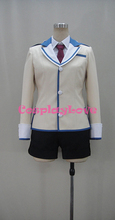 Buy Flag Breaks Megumu Tozokuyama Uniform COS Clothing Cosplay Costume for $74.09 in AliExpress store