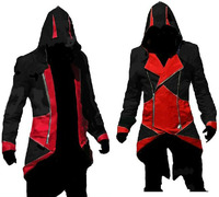Assassin's Creed Men's Connor Cosplay Costume Men Coat Jacket For Halloween Free Shipping