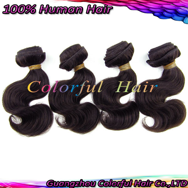 cheap 1kg body wave hair weaves natural black wefts people's extensions 2 50g/pcs 1b# color 8'' - GZ Hair Products Co.,LTD store
