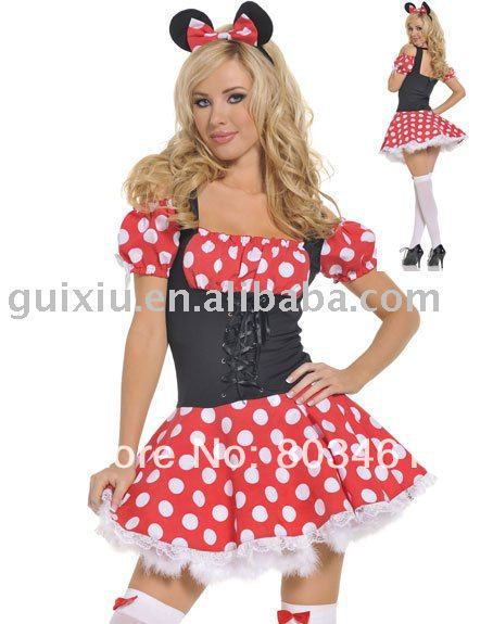 online kaufen gro handel mini mouse costumes for women aus. Black Bedroom Furniture Sets. Home Design Ideas