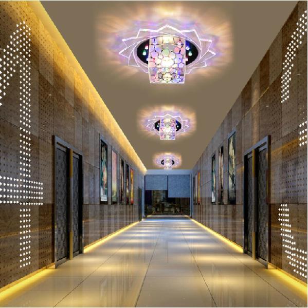 5W modern brief ceiling chandelier home lighting led lamp bedroom light AC220V AC230V AC240V acrylic lampshade - Shenzhen Rise-Top Technology Co.,LTD store