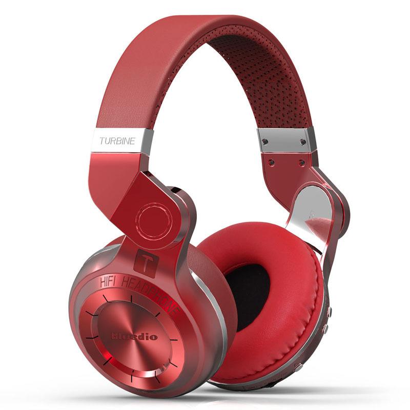 100% Original Fashion Bluedio T2 Turbo Wireless Headphone Bluetooth 4.1 Stereo High Bass Headset Mic - Trend element store