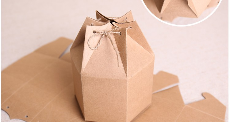 20pcs Free shipping custom made printed boxes sweet gift packing boxes nature craft paper boxes homemade candy cakes seal bags(China (Mainland))