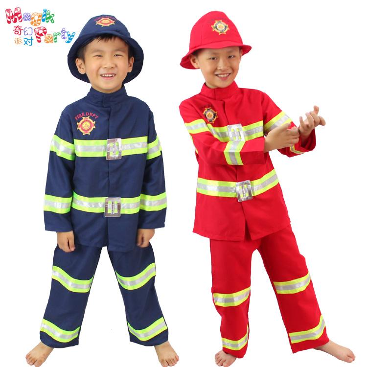 Новогодний костюм пожарного своими руками