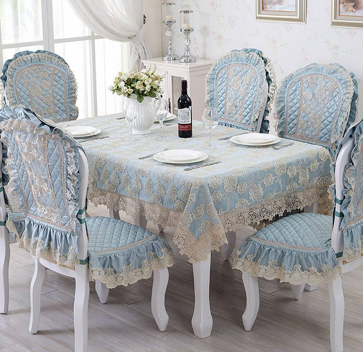 Silk Road upscale European lace table cloth pastoral coffee table cloth rectangle(China (Mainland))