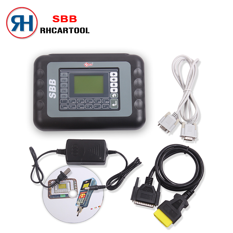 Newest Silca Car Styling SBB Key Pro with newest version V33.02 High Quality Auto Key Programmer SBB Silca Key Pro Free Shipping(China (Mainland))