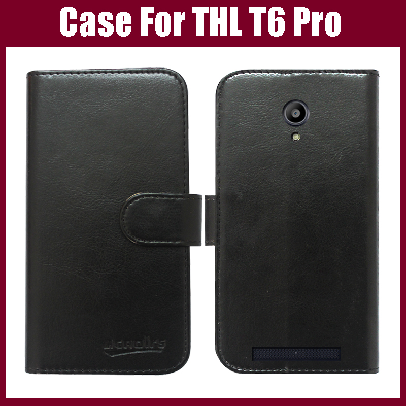 android phone leather case cover THL T6 Pro 6 colors choice stock - Guangzhou Venice store