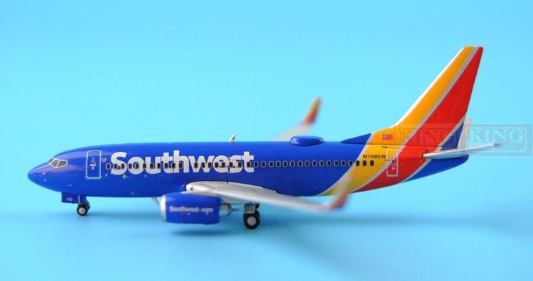 GJSWA1461 GeminiJets USA Southwest Airlines 1:400 B737-700WL commercial jetliners plane model hobby(China (Mainland))