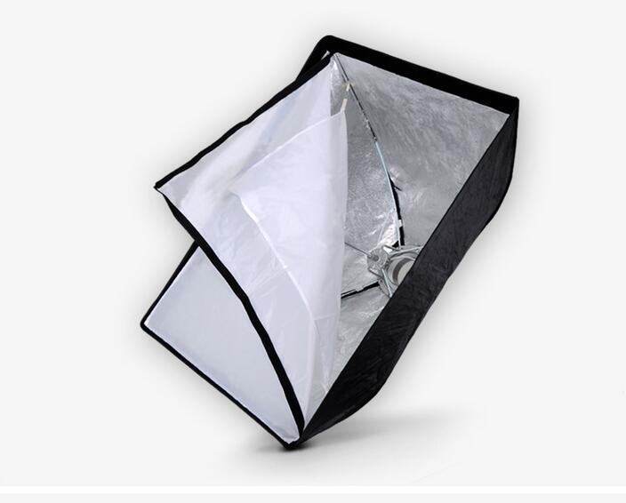 Nicefoto K80*120cm Umbrella Frame Photo Studio Square Softbox Soft Box For All Strobe Flash Lighting(China (Mainland))
