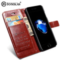 Flip Leather Cover Case For iPhone 7 7 Plus Wallet Stand Phone Bag Cases For Apple
