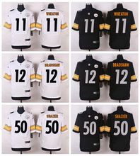 High quality,Pittsburgh Steelers,#11 Markus Wheaton #12 Terry Bradshaw #50 Ryan Shazier Elite camouflage(China (Mainland))