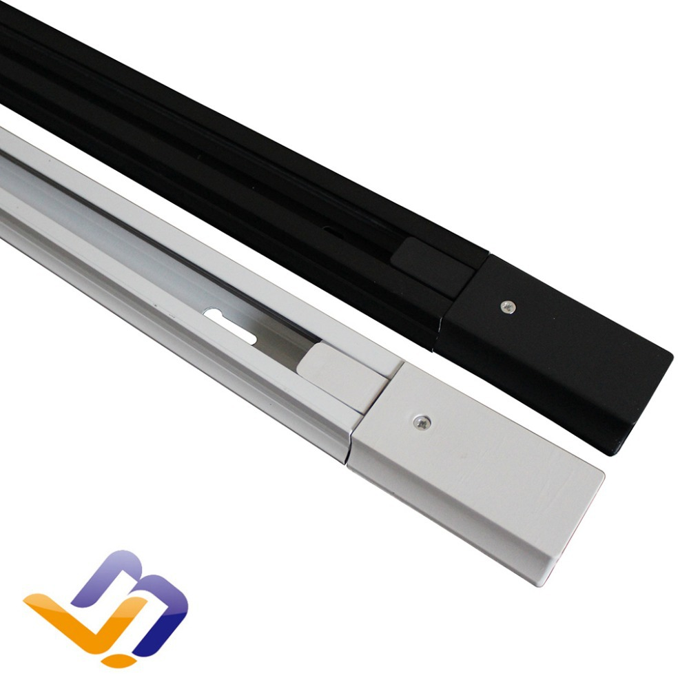 factory led track lamps accessories the tracking rail. Black Bedroom Furniture Sets. Home Design Ideas