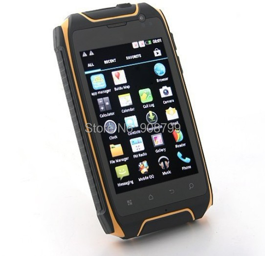3.5Inch Hummer H1+ Dual Core Rugged smartphone MTK6572A GPS Android4.2.2 dustproof shockproof waterproof 960*640 512M 4G 2800mAh