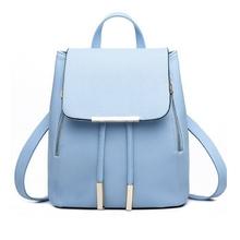 Fashion Women's Backpacks Leather School Bags Rucksacks for Teenager Girls Ladies Shoulder Bags Satchel Bags Bolsa Feminina(China (Mainland))